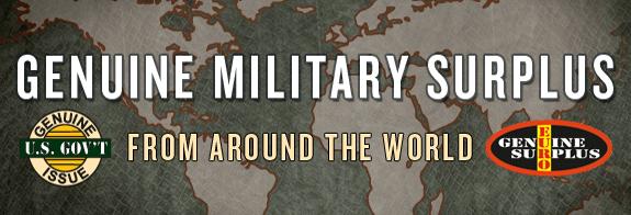 Genuine Military Surplus
