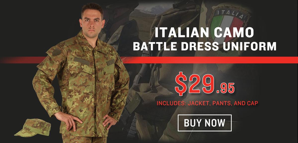 Italian Military BDU Set