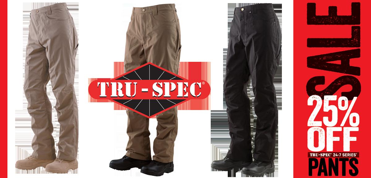 Tru-Spec 25% off Pants