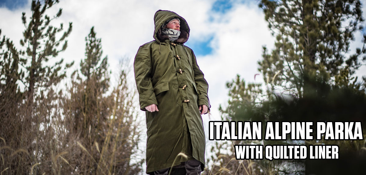 ITALIAN ALPINE PARKA